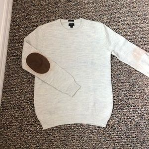 J. Crew Merino Wool Sweater with Elbow Patch